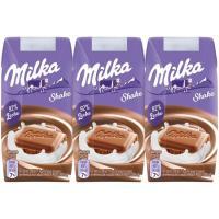 Batido de cacao MILKA, pack 3x200 ml