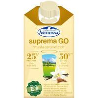Batido de vainilla y caramelo LA ASTURIANA, brik 250 ml