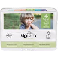 Pañal 9-15 kg Talla 4 MOLTEX Pure&Nature, paquete 50 uds