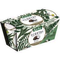 Vegetal de coco sin azúcares añadidos KAIKU, pack 2x115 g