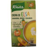 Crema de zanahoria patata y calabaza Elsa KNORR, brik 500 ml