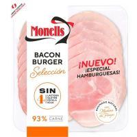 Bacón burger selección MONELLS, sobre 140 g