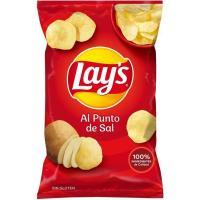 Patatas fritas al punto de sal LAY`S, bolsa 160 g