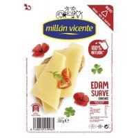 Queso Edam MILLAN VICENTE, lonchas, bandeja 300 g