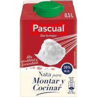 Nata para montar y cocinar PASCUAL, brik 500 ml