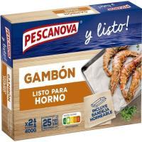 Gambón al horno PESCANOVA, caja 400 g