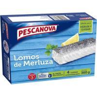 Lomos de merluza PESCANOVA, caja 360 g