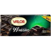 Chocolate negro 99% VALOR, tableta 170 g