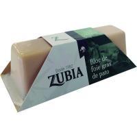 Bloc de Foie gras de pato Mi Cuit ZUBIA, tarrina 110 g