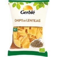 Snacks de lentejas GERBLE BIO, bolsa 65 g