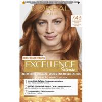 Tinte 7.43 oro cobre EXCELLENCE Color Cream, pack 1 ud