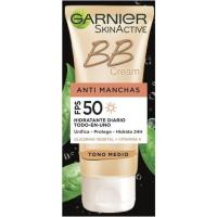 Bb cream medio antimanchas Fps 50 SKIN ACTIVE, tubo 50 ml