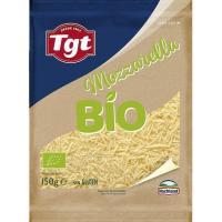 Queso rallado Mozzarella bio HOCHLAND, bolsa 150 g