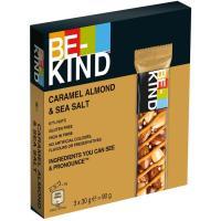 Barrita de caramel almond BEKIND, pack 3x30 g