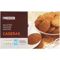 Galleta estilo casero EROSKI, caja 500 g