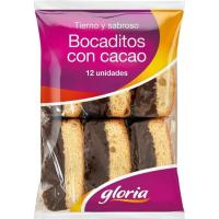 Bocadito de chocolate GLORIA, paquete 330 g