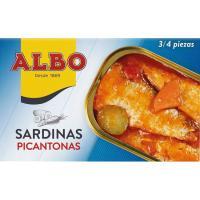 Sardina en salsa picantona ALBO, lata 120 g