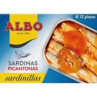Sardinilla en salsa picantona ALBO, lata 107 g
