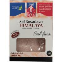 Sal rosa del himalaya ROCA, caja 1 kg