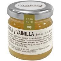 Dulce de pera y vainilla PAIARROP, frasco 40 g