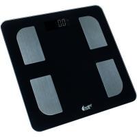 Báscula digital multifunción, 12 medidiones, análisis peso, masa osea LONGFIT CARE