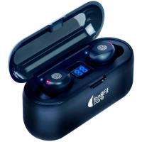 Auriculares de botón inalámbrico, BT 5.0, indicador carga led LONGFIT CARE, 1 ud