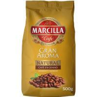 Café en grano natural MARCILLA, paquete 500 g