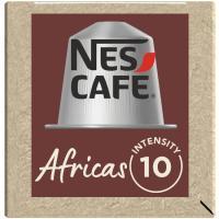 Café Nespresso África NESCAFÉ, caja 10 monodosis