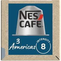 Café Nespresso 3 Américas NESCAFÉ, paquete 10 monodosis