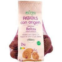 Patata Beltza UDAPA Gourmet, bandeja 1 kg