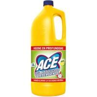 Lejía amarilla de limón ACE, garrafa 2 litros