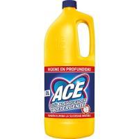Lejía multiusos amarilla ACE, garrafa 2 litros