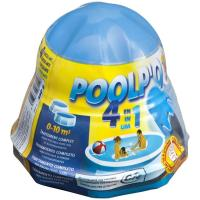 Tratamiento mensual de cloro poolpo 0-10 m3 GRE, envase 250 gr