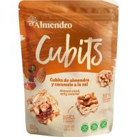 Cubits snacks a la sal EL ALMENDRO, bolsa 100 g