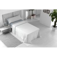 Juego sábanas cama 90 Aqua NAF NAF, 50% Algodón 50% Poliéster, planchado fácil