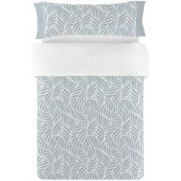 Funda nórdica cama 90 Aqua NAF NAF, 50% Algodón 50% Poliéster, planchado fácil