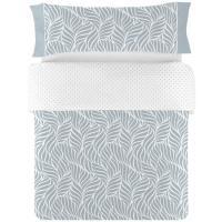 Funda nórdica cama 135 Aqua NAF NAF, 50% Algodón 50% Poliéster, planchado fácil