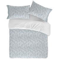 Funda nórdica cama 150 Aqua NAF NAF, 50% Algodón 50% Poliéster, planchado fácil