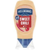 Salsa sweet chili HELLMANNS, bocabajo 250 ml