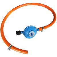 Kit regulador 28 gr/cm², goma, 2 abrazaderas y regulador con válvula de seguridad