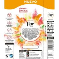 Suavizante twist melocotón citric FLOR, botella 60 dosis