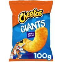 Aperitivo de queso giant CHEETOS, bolsa 100 g
