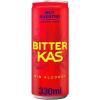Bebida refrescante BITTER KAS, lata 33 cl