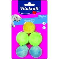 Juguete pelotas con cascabel para gato VITAKRAFT, pack 1 ud
