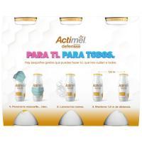 Yogur endulzado con miel ACTIMEL, pack 6x100 g