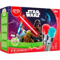Helado de Star Wars FRIGO, pack 6x80 ml