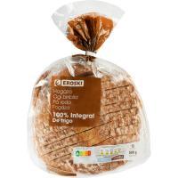 Pan de hogaza integral EROSKI, paquete 500 g