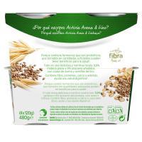 Yogur 0% con semillas de avena-lino DANONE Activia, pack 4x120 g