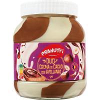 Crema de cacao 2 sabores NATRA, frasco 750 g