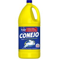 Lejía multiusos CONEJO, garrafa 4 litros